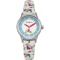 ladies cath kidston little birds rotating disc strap watch ckl011us