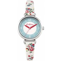 ladies cath kidston kew sprig stone strap tbar watch ckl020cs