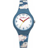 ladies cath kidston mini clouds silicone strap watch ckl023n
