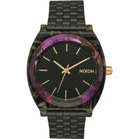 unisex nixon the time teller acetate watch a3272482