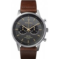 mens triwa smoky nevil chronograph watch nest114cl010412