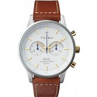 mens triwa snow nevil chronograph watch nest115sc010215