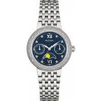 ladies bulova diamond gallery watch 96w210