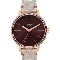 ladies nixon the kensington leather watch a1081890