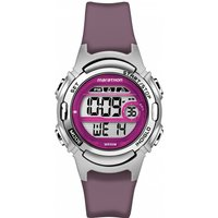 ladies timex marathon alarm chronograph watch tw5m11100
