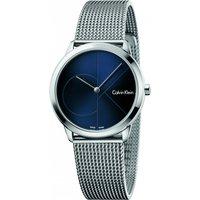 unisex calvin klein minimal 35mm watch k3m2212n