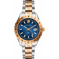 unisex versace hellenyium gmt watch v11060017