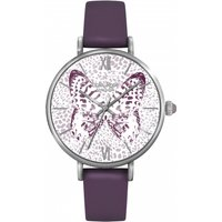 ladies lola rose butterfly dial watch lr2003