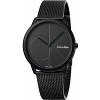 unisex calvin klein minimal 40mm watch k3m514b1