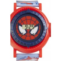 childrens character marvel ultimate spiderman projection watch spm83