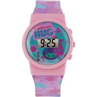 childrens character trolls lcd sound effect watch trol40