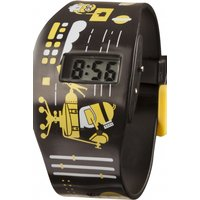 childrens character despicable me 3 all over print lcd watch mns131