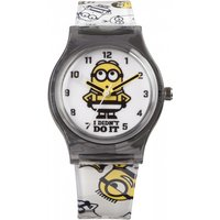 childrens character despicable me 3 breakout stripe style watch mns133