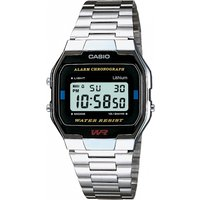 mens casio classic leisure alarm chronograph watch a163wa1qes