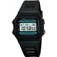 mens casio retro alarm chronograph watch w861vqes