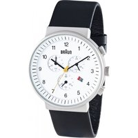 mens braun chronograph watch bn0035whbkg