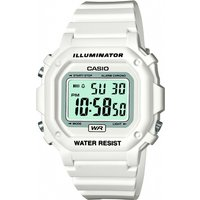 mens casio classic alarm chronograph watch f108whc7bef