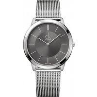 mens calvin klein minimal 40mm watch k3m21124