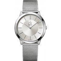 mens calvin klein minimal 40mm watch k3m21126