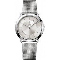 mens calvin klein minimal 35mm watch k3m22126