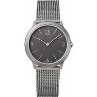 mens calvin klein minimal watch k3m52154