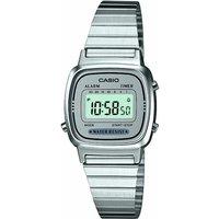 ladies casio classic collection alarm chronograph watch la670wea7ef