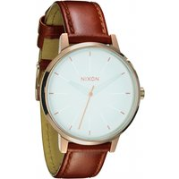 ladies nixon the kensington leather watch a1081045