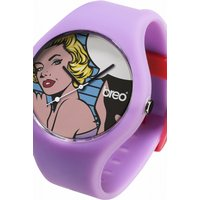 unisex breo classic marilyn purple watch bticlcm2