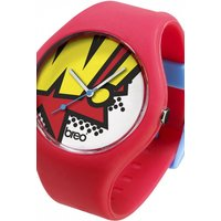 unisex breo classic pow red watch bticlcp10