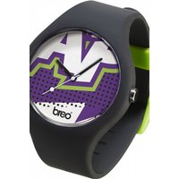 unisex breo classic zap black watch bticlcz7