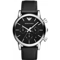 mens emporio armani chronograph watch ar1733