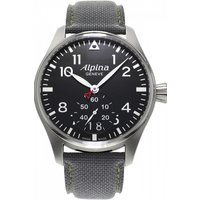 mens alpina startimer pilot watch al280b4s6
