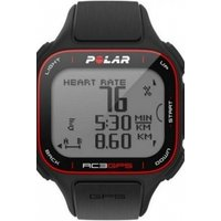 mens polar rc3 gps hr altitude alarm chronograph watch 90048175
