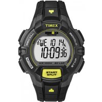 mens timex indiglo ironman alarm chronograph watch t5k790