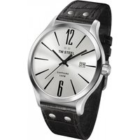 mens tw steel slim line 45mm watch tw1301