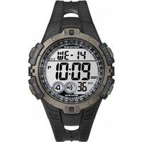 mens timex indiglo marathon alarm chronograph watch t5k802