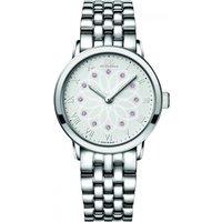ladies 88 rue du rhone double 8 origin 35mm pink sapphire watch 87wa140012