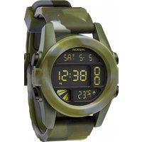 mens nixon the unit alarm chronograph watch a1971727