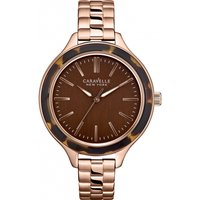 ladies caravelle new york carla watch 44l128