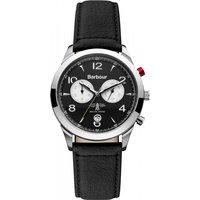 mens barbour redley chronograph watch bb017slbk