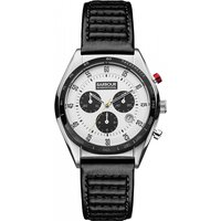 mens barbour international boswell chronograph watch bb025whbk