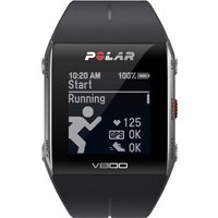 unisex polar v800 bluetooth heart rate monitor gps smart alarm chronograph watch 90047437