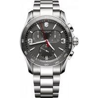 mens victorinox swiss army chrono classic chronograph watch 241656