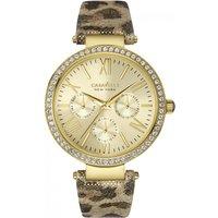 ladies caravelle new york glitz watch 44n103