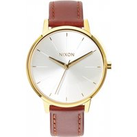ladies nixon the kensington leather watch a1081425