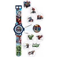childrens character marvel multiprojection watch mar9