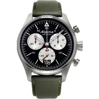 mens alpina startimer pilot chronograph watch al372bs4s6