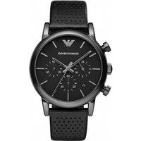 mens emporio armani chronograph watch ar1737