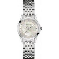 ladies bulova diamond gallery watch 96s160