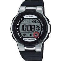 mens lorus alarm chronograph watch r2353kx9